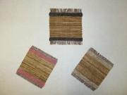 竹皮織りコースター