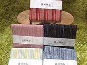 遠州綿紬 はんかち