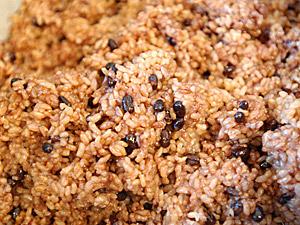 長岡式酵素玄米のツナアボガドサラダ巻き