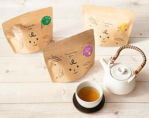 三島甘藷(かんしょ)溶岩焙煎茶