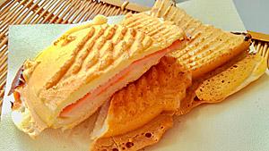 ハムチーズたい焼き