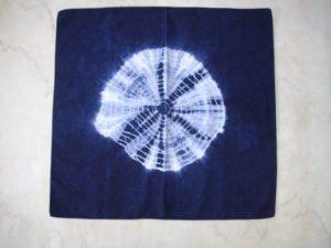 絞り染め 風呂敷(540角)