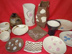 陶器 ♡皿・花瓶など
