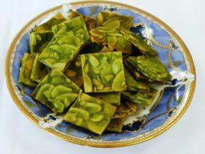 アーモンドチュイール(抹茶)