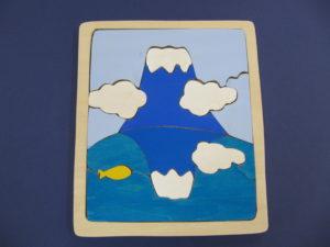 富士山パズル(色つき)