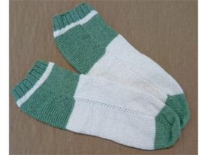 オリジナル手作り靴下