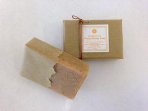 みかんはちみつ石けん(Orange Honey Soap)