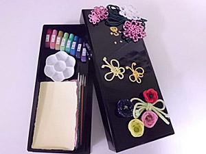 漆塗り木箱のギフトボックス