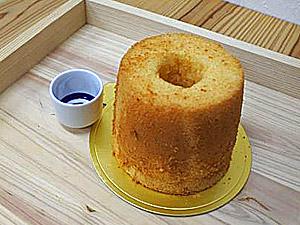 酒粕シフォンケーキ