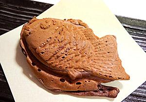チョコバナナカスタードたい焼き(季節限定)